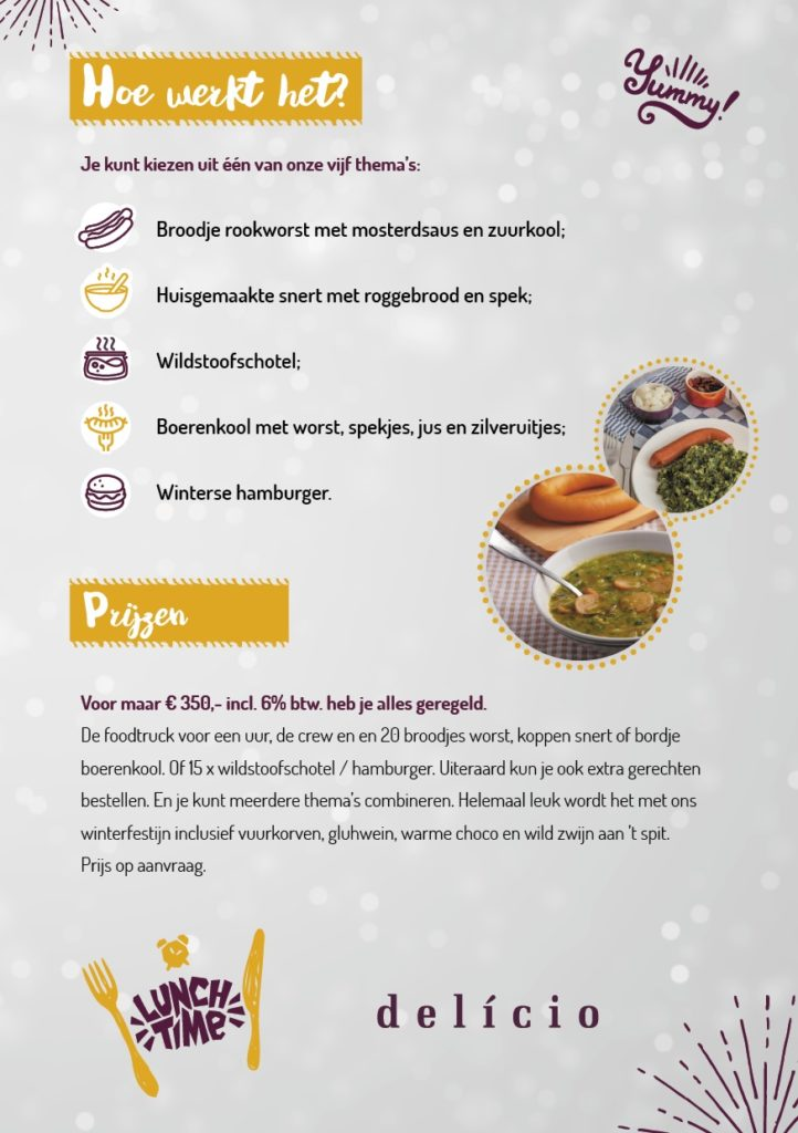 foodtruck winterfest kerstborrel