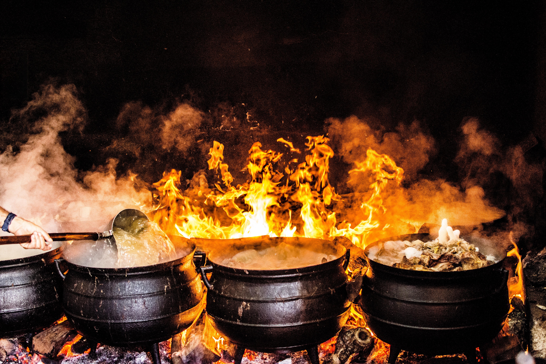 Super Buiten koken, outdoor workshops & catering. - Delicio IP-99